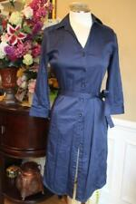 BROOKS BROTHERS Women's navy shirt dress size 4 (DR400