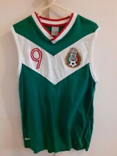 mexico football training shirt size Xs 18 inches pit to pit