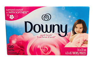 Downy April Fresh Fabric Softener Dryer Sheets 120 sheets