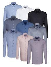 Seidensticker Herren Herrenhemd Langarm Business Hemd Tailored Kent Divers 04