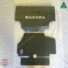 Navara D40 (06 to 11) Spanish/Thai st st-x rx - 2pce 3mm Mild Steel Bash Plates