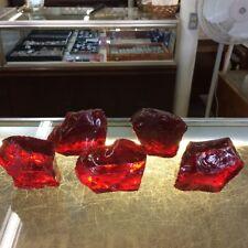 Blood Red Bulk Lot 10 lb. Glass Slag Cullet Landscaping Aquarium Sorcerer Stone