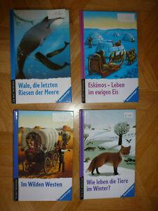 4 x Buch Ravensburger die Welt entdecken