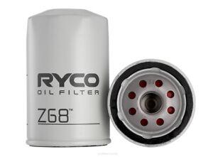 Ryco Oil Filter Z68 fits Toyota Corolla 1.1 (KE10), 1.2 (KE20,KE25,KE30), 1.2...