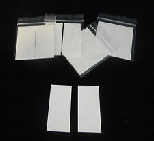 LOT OF TWO (2) HIGH PURITY ALUMINA CERAMIC SUBSTRATES TILES STRIPS No.: 46