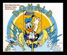 Antigua - 1999- Disney - Donald Duck - Water Ski - Water Sports - Mint S/Sheet!