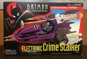1993 Kenner Batman The Animated Series Electronic Crime Stalker - New/open box