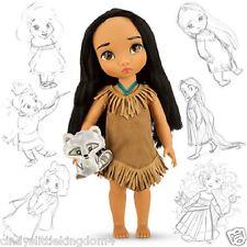 NUOVO Disney Pocahontas Animator COLLEZIONE Store Bambola alto 38cm età 3+