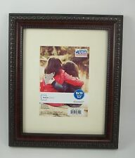 1 12x10 Picture Frame w/o Matt 8x10 Holds 2 4 x 6 Photo Picture Hang Stand #6