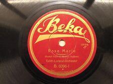 Beka - Edith Lorand - Rose Marie - 33754 - 33755