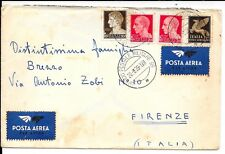 ALBANIA WWII COVER 20.6.39 TO ITALY