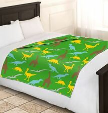 Único Chicos suave y cálido Dinosaurio polar mantas Sofá Cama Manta 120x150cm