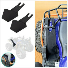 2 Pcs ATVs Rear Passenger Foot Pegs Adjustable Foldable Footrest Cloth Material