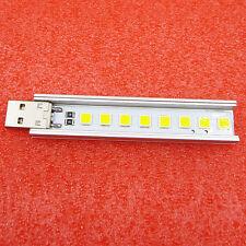Mobile Power 5V Highlight Usb Lamp 8 Beads Smd Lg 5152 Led Warm White