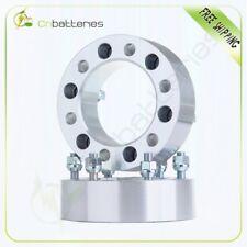 "2X 2"" 6x5.5 6 Lugs Wheel Spacers 12x1.25 Stud For Nissan Titan Frontier Infiniti"
