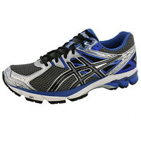 ASICS MENS GT 1000 3 LIGHTNING BLACK ROYAL 4E WIDE WIDTH RUNNING SHOES