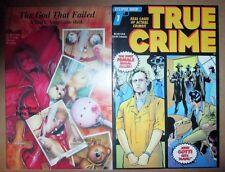 True Crime 1, God That Failed Dark Angel Eclipse Boneyard 1992 NM Psycho Killers