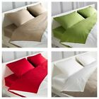 IKEA DVALA Fitted sheet SINGLE DOUBLE QUEEN SIZE WHITE BEIGE RED GREEN