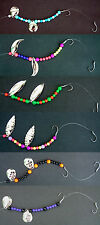 Lake Erie Walleye Candy Worm Harness (1) set (6) different harnesses