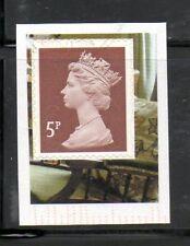 5p Security Machin 2011 No Overprint William Morris PB Pane - Fine Used