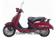 APRILIA 2 STAGE TOUCH UP PAINT KIT 1999 - 2003 HABANA 50 125 CARIBE RED
