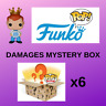 6x MYSTERY FUNKO POP DAMAGES BOX JUST £5 EACH PHOTOS ATTACHED