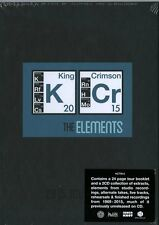 KING CRIMSON THE ELEMENTS 2015 TOUR BOX DOPPIO CD+BOOK 24 PAGINE DELUXE EDITION
