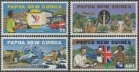 Papua New Guinea 1980 SG380-383 Admission to UPU set MNH