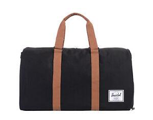 Herschel Supply Co. Novel Black/Tan Duffle Bag 10026-00055