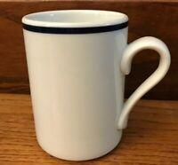 """Dansk Bistro Christianhavn Blue Made In Portugal Mug 4 1/8"""""""