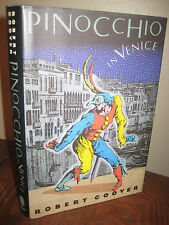 1st Edition PINOCCHIO IN VENICE Robert Coover FIRST PRINTING Novel FICTION