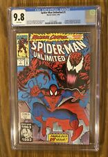 "Spider-Man Unlimited #1, CGC 9.8, NM/MT, ""Maximum Carnage"", 1st app. of Shriek"