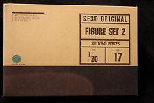 S.F.3.D. ORIGINAL FIGURE SET 2 SHUTORAL FORCES 1/20 SERIES 17 NEW