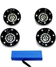 Custom Dynamics Black LED Smoked Turn Signal Kit 11-16 Harley DYNA Softail XL