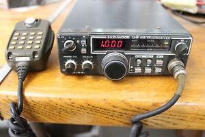 Vitnage TRIO KENWOOD TR-8400 UHF 430MHz FM Transceiver Ham Radio w/ Microphone