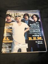 1996 R.E.M. Rolling Stone Magazine, Suicide At Yale, Al Pacino Interview, Nirvan