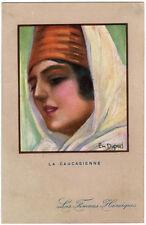 CPA - Illustrateur Em. DUPUIS - Les Femmes Héroiques - La Caucasienne.