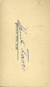 Spud Davis D.84 Signed Jsa Cert Sticker 1950 Fdc Authentic Autograph
