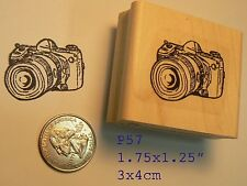 Photo camera rubber stamp P57
