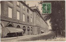 CPA -69-  LYON - Quai de l'Hôpital.