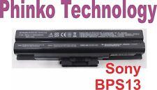 Battery for Sony VGN-FW43g VGN-FW31M VGP-BPS13/S VGN-FW82DS VGN-FW81S BLACK
