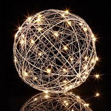 LED Dekokugel Leuchtkugel Innen LED Kugel Lichterkugel Lichtobjekt Batterie 20cm