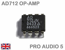 AD712JN (AD712) DUAL BIFET OP-AMP I.C. DIP-8  - Analog Devices - UK Fast Post