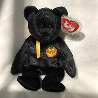 "Ty Beanie Baby ""Haunt""Bear #4377, Fr 2001, Retired"