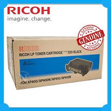 Ricoh Genuine 400945 BLACK Toner Cartridge for AP400/AP410 (TYPE-220) 15K Pages