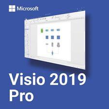 Visio 2019 Professional - 1 User - Fаst Dеlivеrу
