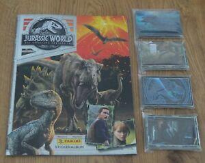 Panini Jurassic World The Fallen Kingdom Of Sticker No. 1 - 156 Choose