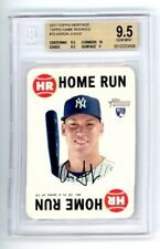 Aaron Judge 2017 Topps Heritage Game RC BGS 9.5, With 10 SUB