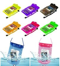 2x Color Waterproof Pouch Dry Bag Water Proof Case Cover Holder For Cell Phones