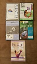 Lot Of 5 Pilates  Fitness Exercise Workout DVD's slim,shape abs, for beginners